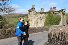 Castillo de Carrigadrohid Fotografía de archivo libre de regalías