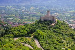 Castillo de Cassino Fotos de archivo