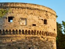 Castillo de Castello Aragonese de Taranto Apulia, Italia Foto de archivo libre de regalías