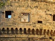 Castillo de Castello Aragonese de Taranto Apulia, Italia Foto de archivo