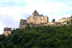 Castillo de Castelnaud, Francia Fotografía de archivo