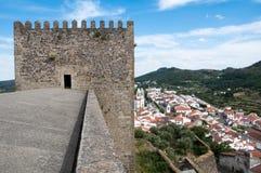 Castillo de Castelo de Vide (Portugal) Imagenes de archivo