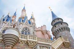Castillo de Cenicienta de Disney Imagenes de archivo