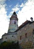Castillo de Cesky Krumlov Imágenes de archivo libres de regalías