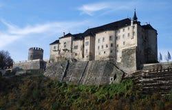 Castillo de Cesky Sternberk Imágenes de archivo libres de regalías