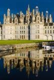 Castillo de Chambord Fotos de archivo libres de regalías