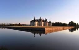 Castillo de Chambord, Francia Fotografía de archivo libre de regalías
