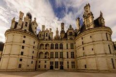 Castillo de Chambord, Francia Imagen de archivo