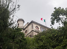 Castillo de Chapultepec Lizenzfreie Stockfotos