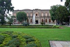 Castillo de Chapultepec Garden fotografia stock