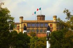 Castillo de chapultepec II Fotografía de archivo