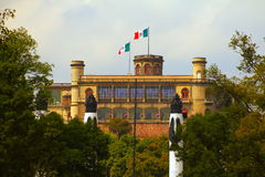 Castillo de chapultepec II Stock Photography