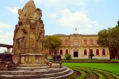 Castillo de chapultepec V Royaltyfri Bild