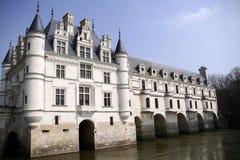 Castillo de Chenonceaux, Francia Imagenes de archivo