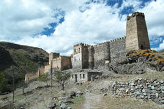 Castillo de Chertwisi Foto de archivo libre de regalías