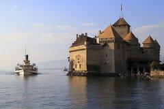 Castillo de Chillon, Suiza Fotos de archivo