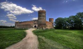 Castillo de Ciechanow Imágenes de archivo libres de regalías