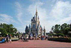 Castillo de Cinderella Foto de archivo libre de regalías