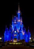 Castillo de Cinderella de Disney Foto de archivo libre de regalías
