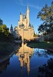 Castillo de Cinderella de Disney Fotografía de archivo