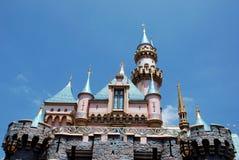 Castillo de Cinderella en Disneylandya Fotos de archivo libres de regalías