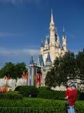 Castillo de Cinderella en Disneyworld Foto de archivo libre de regalías