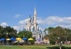 Castillo de Cinderella - mundo de Disney Imágenes de archivo libres de regalías