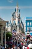 Castillo de Cinderella - reino mágico Foto de archivo libre de regalías