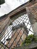 Castillo de Cislago Lombardía, Italia Fotografía de archivo libre de regalías