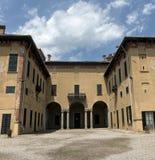 Castillo de Cislago Lombardía, Italia Imagenes de archivo
