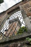 Castillo de Cislago y de x28; Lombardía, Italy& x29; Foto de archivo