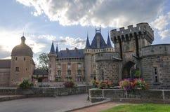 Castillo de Clayette del La Imagenes de archivo