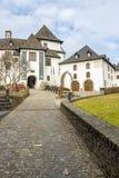Castillo de Clervaux en Clervaux, Luxemburgo imagen de archivo