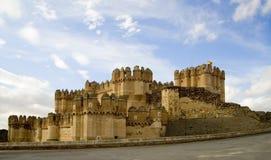 Castillo de Coca 2 Stock Image