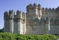 Castillo de Coca Stock Image