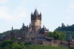 Castillo de Cochem Fotografía de archivo libre de regalías