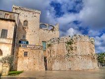Castillo de Conversano. Apulia. fotos de archivo