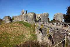 Castillo de Corfe foto de archivo libre de regalías