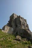 Castillo de Corfe en Dorset imagenes de archivo