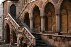 Castillo de Corvin, Hunedoara foto de archivo libre de regalías