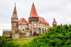 Castillo de Corvin, Rumania fotografía de archivo
