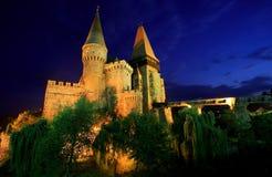 Castillo de Corvinesti Imágenes de archivo libres de regalías
