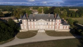 Castillo de Courson fotografía de archivo libre de regalías