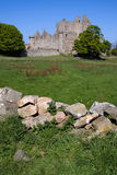 Castillo de Craigmillar, Edimburgo fotografía de archivo