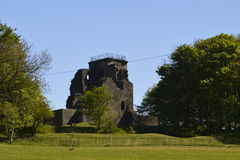 Castillo de Crookston Imagen de archivo