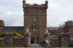 Castillo de Culzean Fotos de archivo libres de regalías