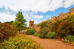 Castillo de Culzean y el parque Imágenes de archivo libres de regalías