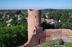 Castillo de Czersk Fotos de archivo libres de regalías