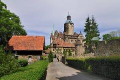 Castillo de Czocha Fotos de archivo libres de regalías