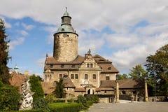 Castillo de Czocha en Polonia Imagenes de archivo